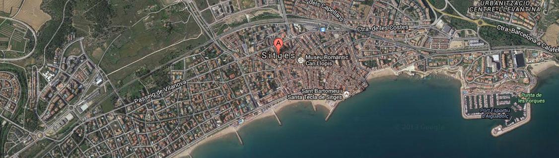 sitges-map