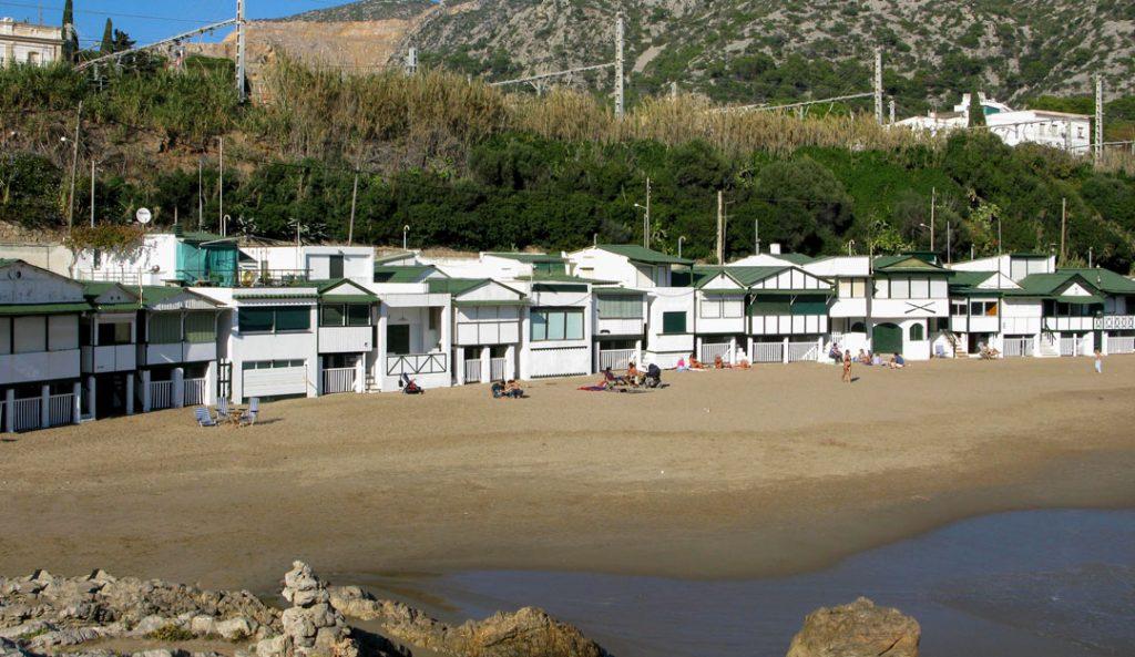 Playas de Sitges, LAS PLAYAS DE SITGES